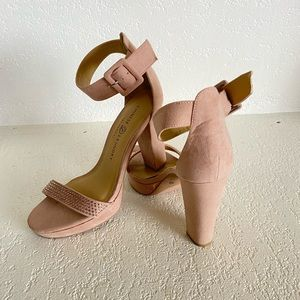 Chinese Laundry Tan Suede Heel Size 8